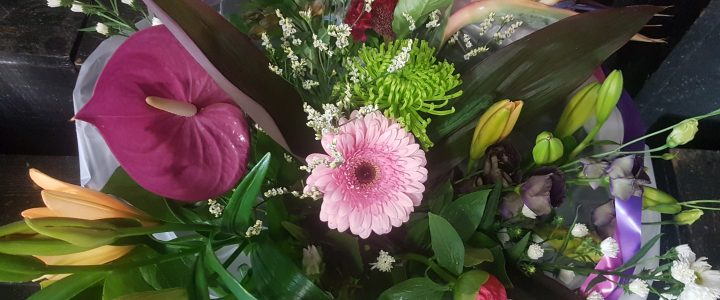 Bloemen in de Corona tijd/ Bezorgen en ophalen
