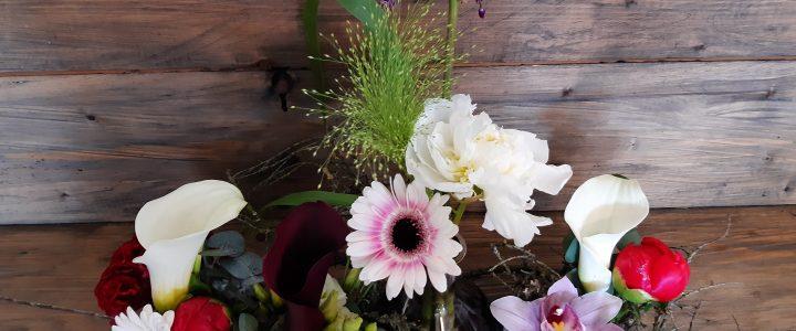 Doe-het-thuis pakket/ thuis bloemschikken
